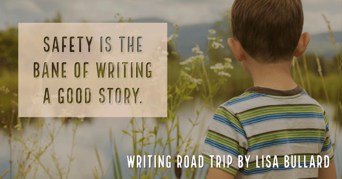 Writing Road Trip by Lisa Bullard | Riding Around the Block