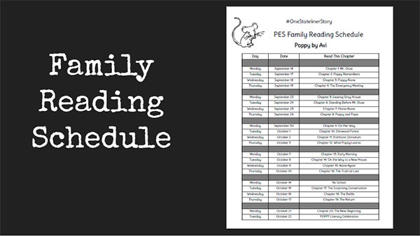 Family Reading Schedule