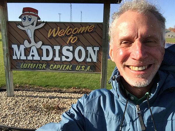 Geocaching in Madison Minnesota