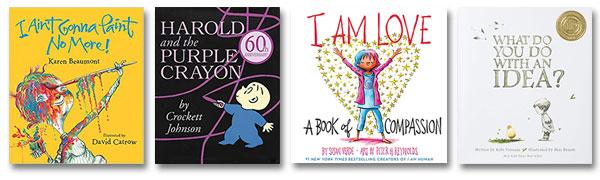 four books for creativity