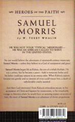 Samuel Morris #4 back