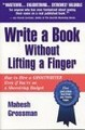 Write A Book Without Lifting A Finger cover