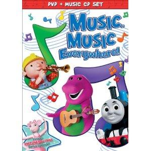 Music Music Everywhere DVD
