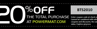 powermat coupon
