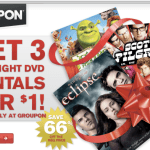 Groupon Coupon: Red Box Three Rentals for $1.00