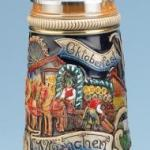 Beer stein and beer glassware are popular novelty items