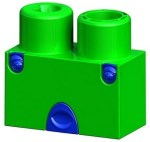 Smarks green block