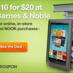 Barnes and Noble Deal: $20.00 Gift Card for $10.00!