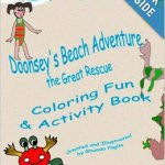 Doonsey's Beach Adventure, The Great Rescue  Written and Illustrated by Rhonda Paglia