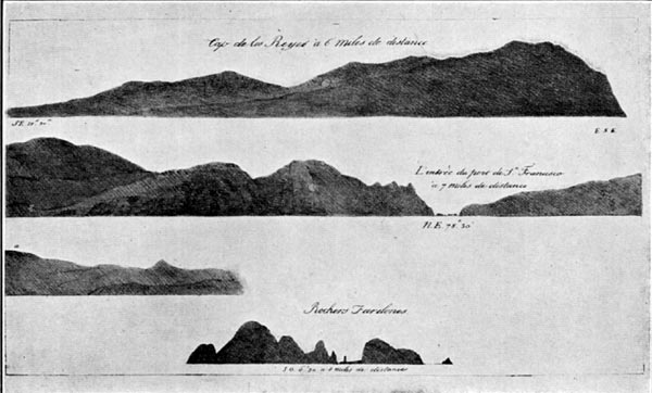 Point Reyes, the Golden Gate, and the Farallones (1813)
