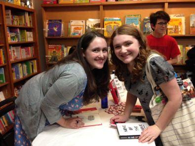Becky Albertalli and me!