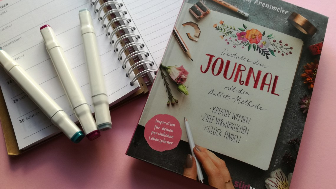 [Rezension] Jasmin Arensmeier – Gestalte dein Journal mit der Bullet-Methode