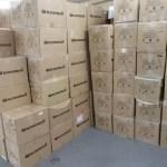 繁忙期に向けての準備|倉庫の拡張と整理