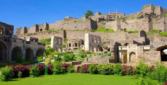 Image result for image of golconda fort