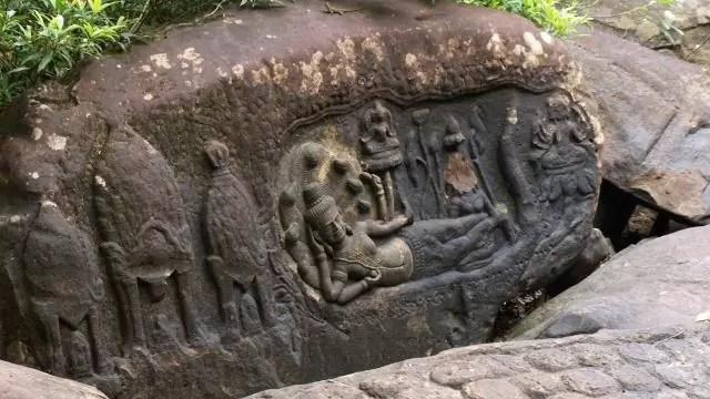 Kbal Spean Vishnu