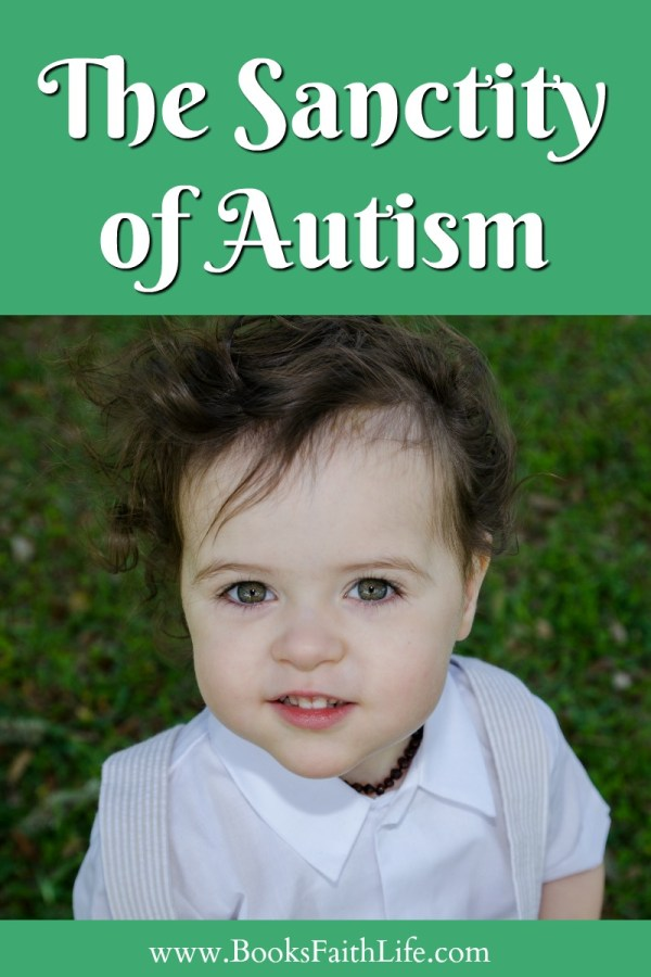 Love is the mission of motherhood. This doesn't end with an autism diagnosis. No child, no human person is meant to be overcome. Autism Acceptance