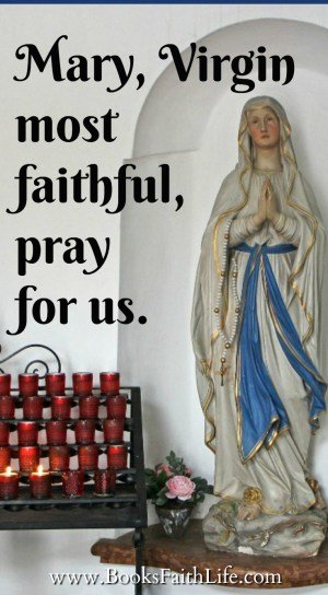 Marian love is a mother's love. The rosary is far from being a dated story, or a dry list of facts. The rosary is the prayer of a Mother, by us mothers.