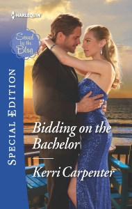 BIDDING ON THE BACHELOR cover 190x300 Bidding on the Bachelor by Kerri Carpenter