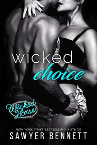 Wicked Choice FOR WEB 200x300 Wicked Choice by Sawyer Bennett   Cover Reveal