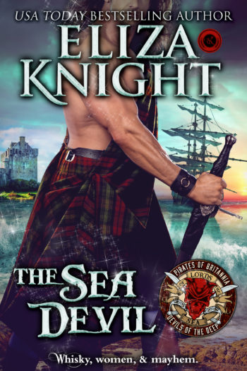 The Sea Devil By USA Today Best Selling Author Eliza Knight – Release Week Celebration with Review, Excerpt and Giveaway!