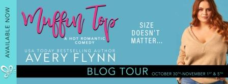 Muffin Top BT Banner Resized Muffin Top by Avery Flynn: Blog Tour   Review and Excerpt