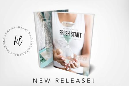 Fresh Start by Kerrie Legend – Review and Giveaway