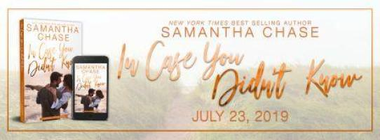 ICYDK Banner Compressed Cover Reveal: In Case You Didnt Know by Samantha Chase