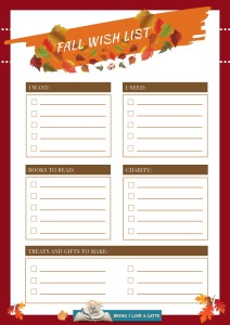 Fall Wish List 2019 V1 212x300 Authors Dish Thanksgiving with Luna Joya