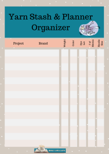 Knitting Organizer Sheet V1 212x300 Ways to Espresso Yourself