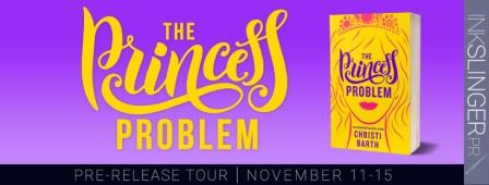 ThePrincessProblem pre releasetour The Princess Problem Pre Release Tour for USA Today Bestselling Author Christi Barth