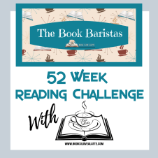 52 Week reading Challenge Book Baristas 1 300x300 52 Week Reading Challenge   Week 1: Not Your Usual Boob by MK Meredith