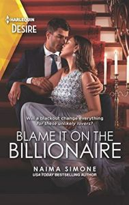 Blame It On the Billionaire 189x300 The Extra Shot: Blame it on the Billionaire by Naima Simone   Excerpt & Review