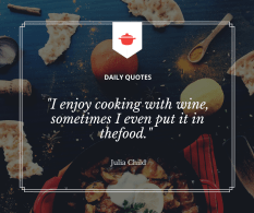 Julia Child Cooking Quote 300x251 Our new normal   ideas on how to survive.