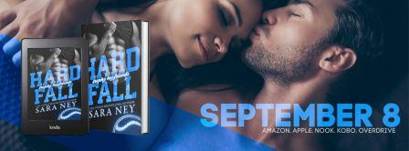 Banner Hard Fall 2 Cover Reveal: Hard Fall (Trophy Boyfriends) by Sara Ney