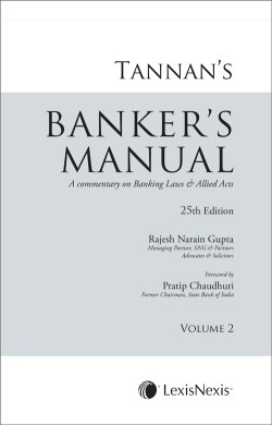Tannan's Banker's Manual- A Commentary on Banking Laws & Allied Acts (Set of 2 Volumes)