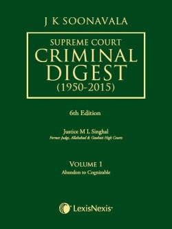 Supreme Court Criminal Digest (1950-2015) (Set of 4 Volumes)