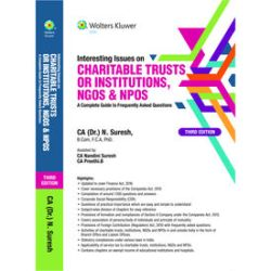 Interesting Issues on Charitable Trusts or Institutions, NGOs & NPOs