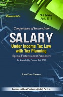 Computation Of Income From SALARY UNDER INCOME TAX LAW