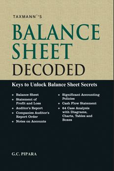 Balance Sheet Decoded