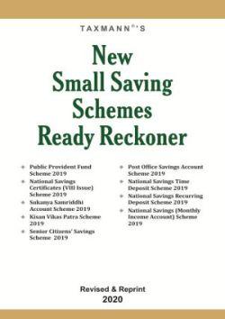 New Small Saving Schemes Ready Reckoner