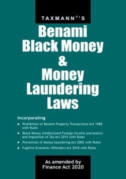 Benami Black Money & Money Laundering Laws