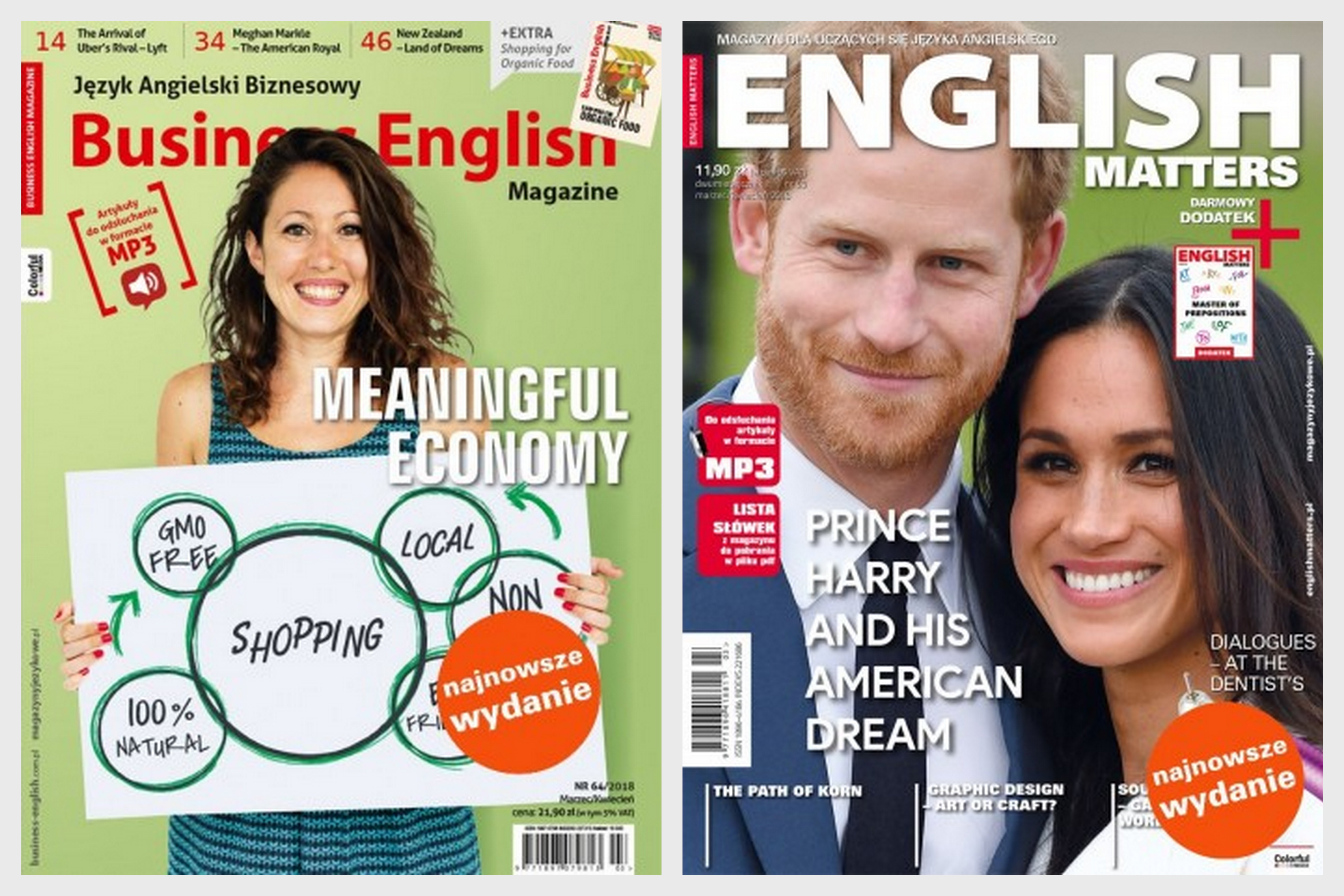 English Matters 69 i Business English 64/2018