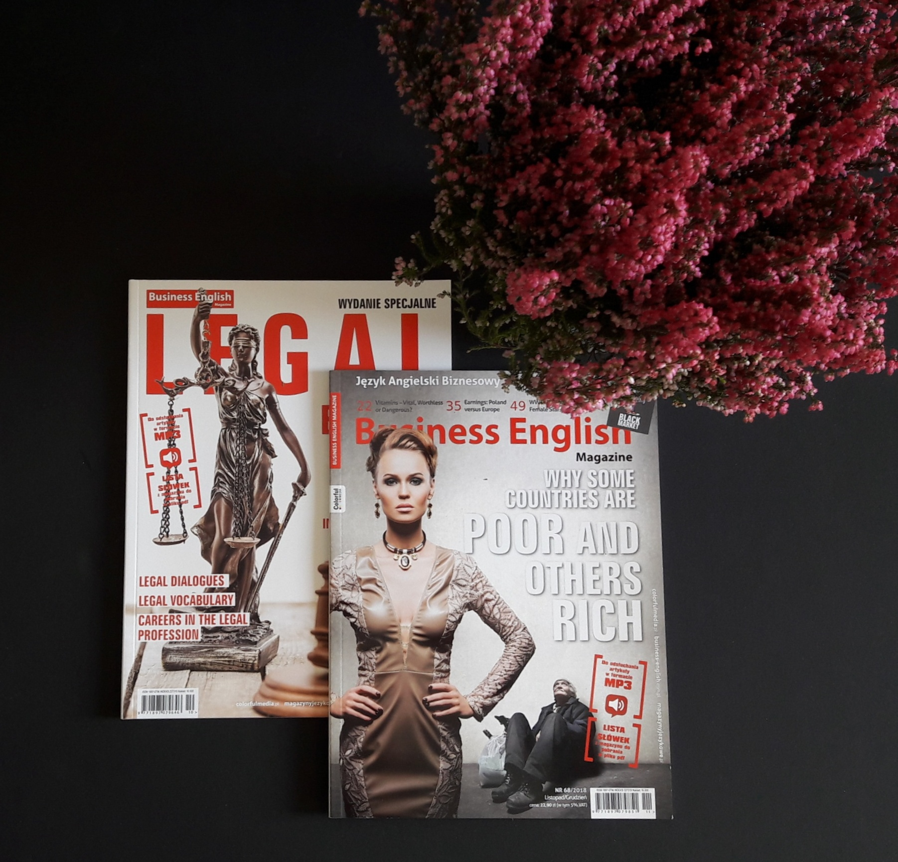 Business English 68/2018 i wydanie specjalne Legal English