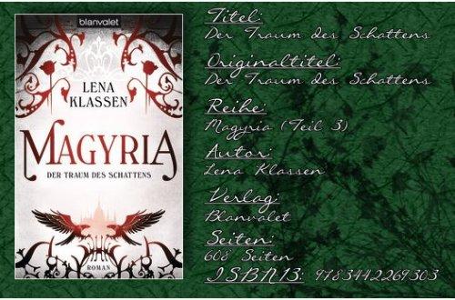 Magyria 03 - Der Traum des Schattens von Lena Klassen