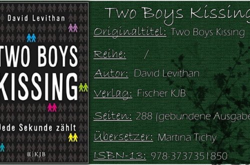 Two Boys Kissing - Jede Sekunde zählt von David Levithan