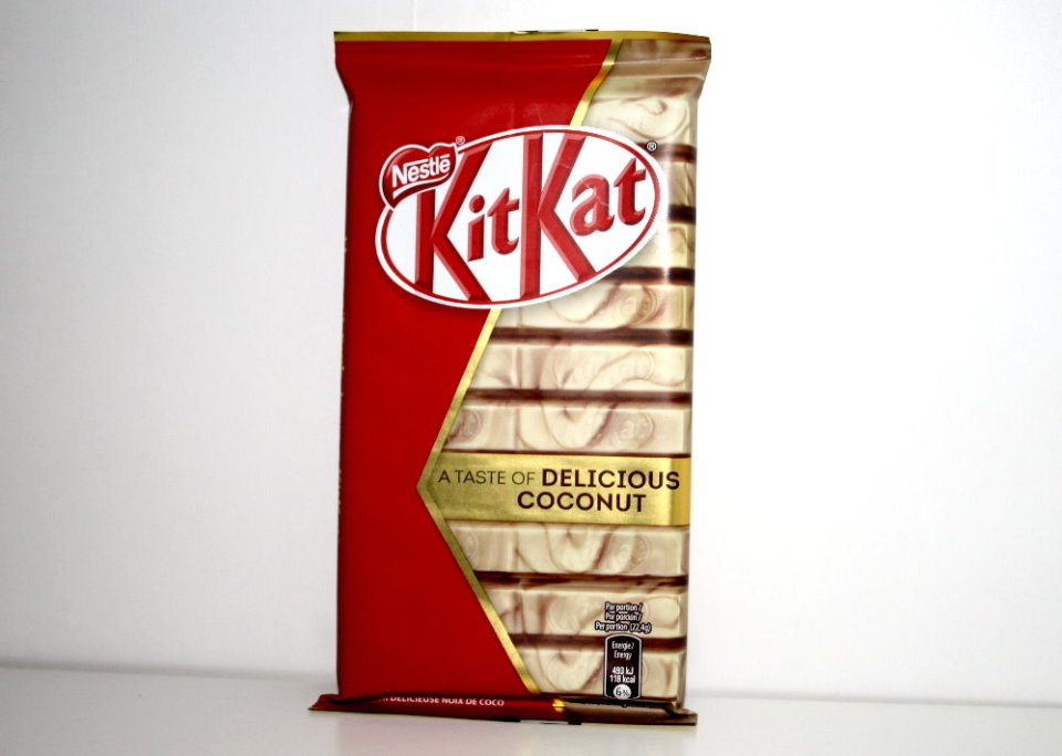KitKat A Taste of Delicious Coconut
