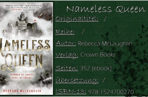 Nameless Queen von Rebecca McLaughlin