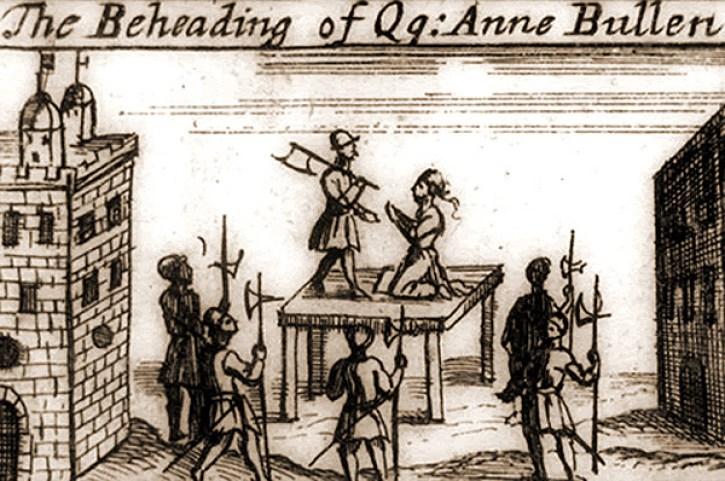 Darstellung der Hinrichtung Anne Boleyns