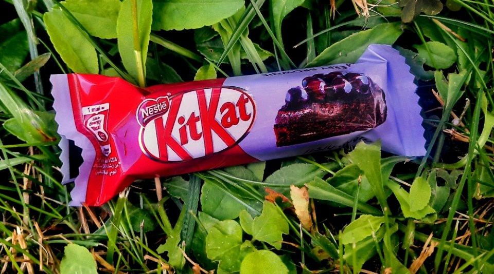 KitKat Senses Cherry Brownie