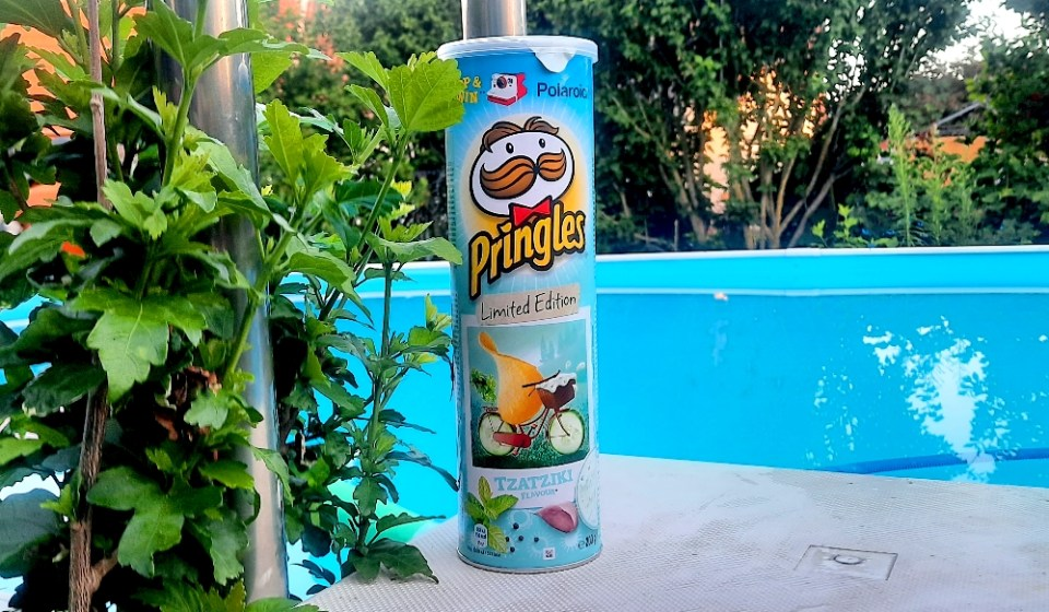 Pringles Tzatziki Limited Edition